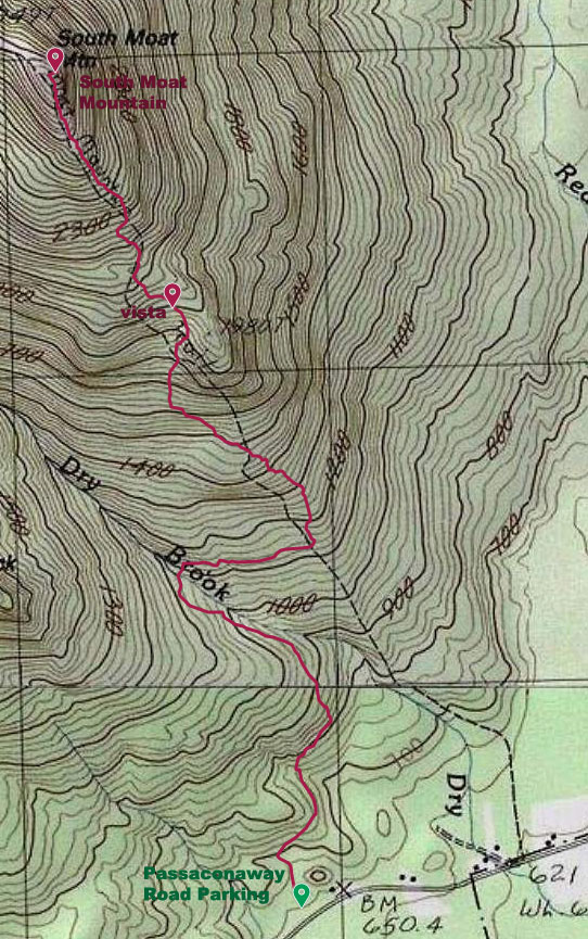 Map of Hike