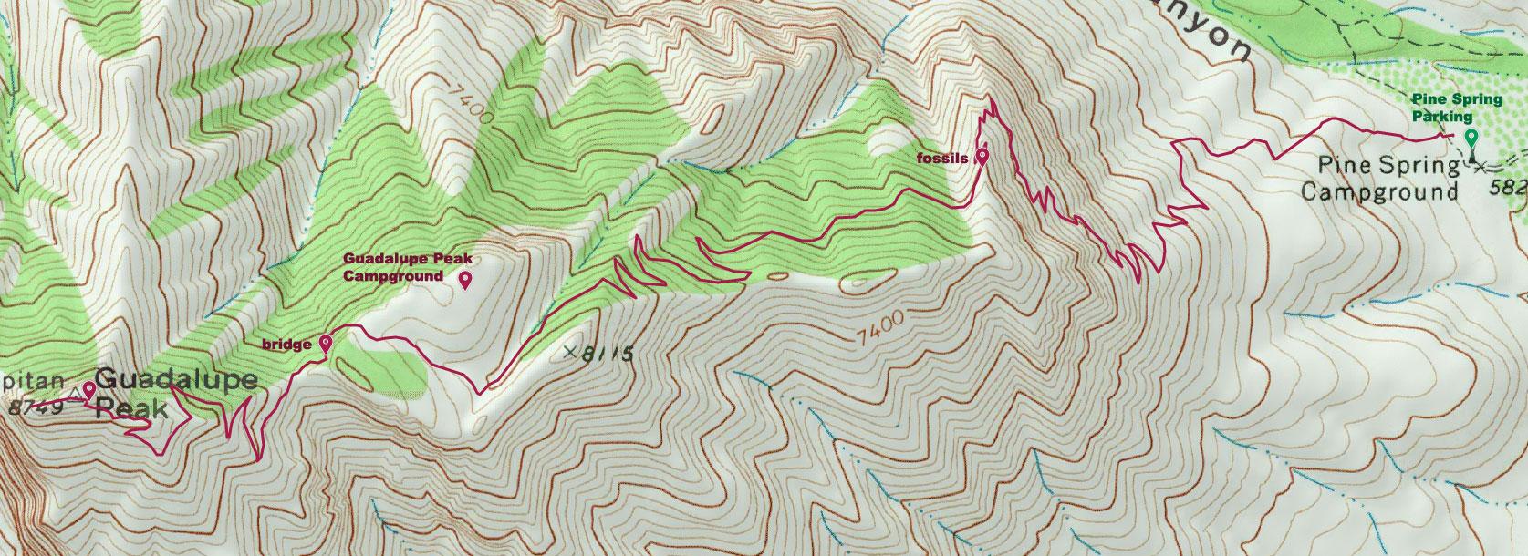 Hike Guadalupe Peak Maine Wanderlust