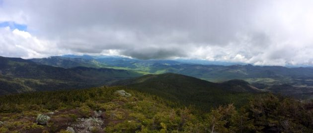 Wild River Wilderness from Mount Hight