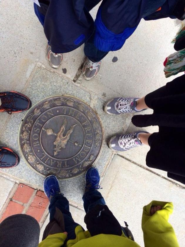 End of the Freedom Trail