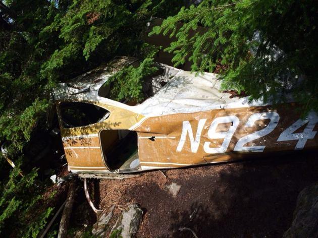 Plane crash on Mount Abraham