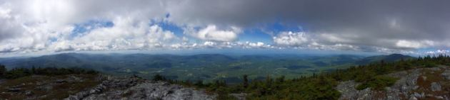 View from Mount Abraham