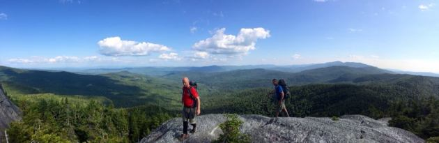 Panorama from Burnt Rock