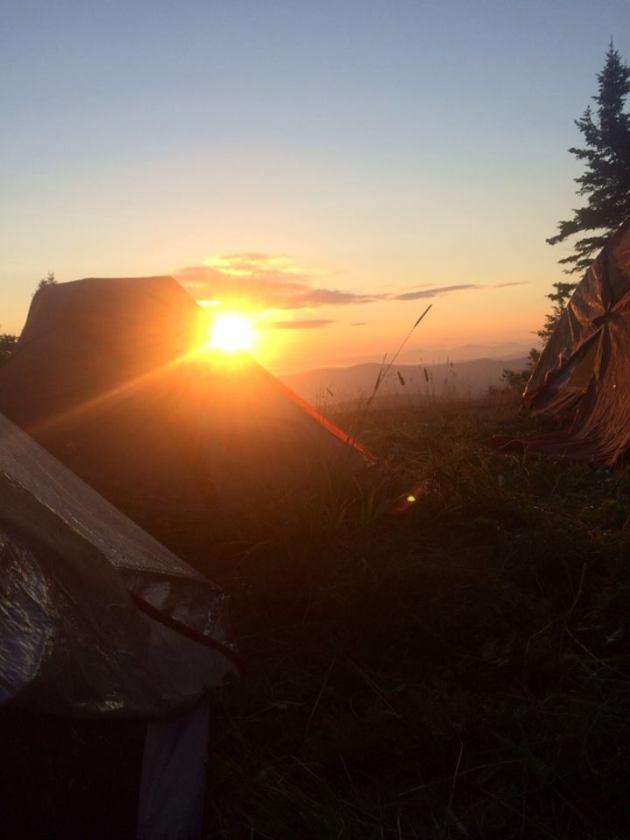 Sunrise from Stark's Nest