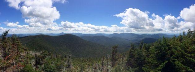 View from Hancock North Peak