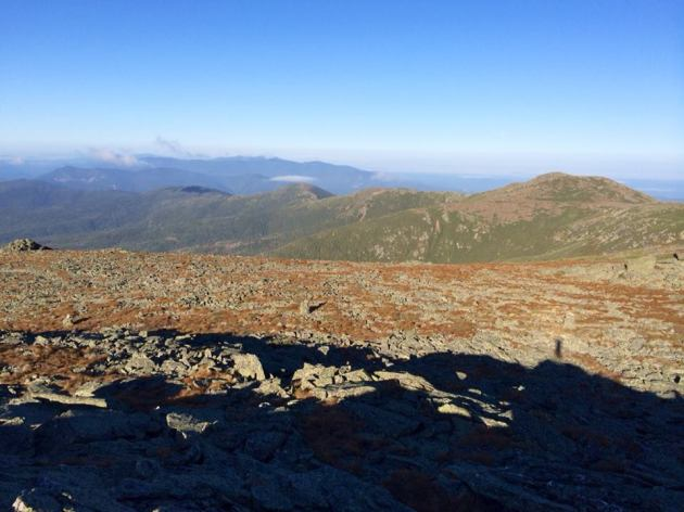 Southern Presidentials from the peak of Boott Spur