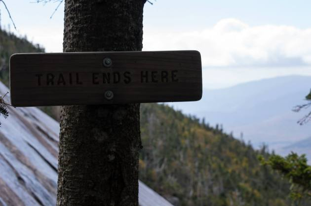 Trail Ends Here