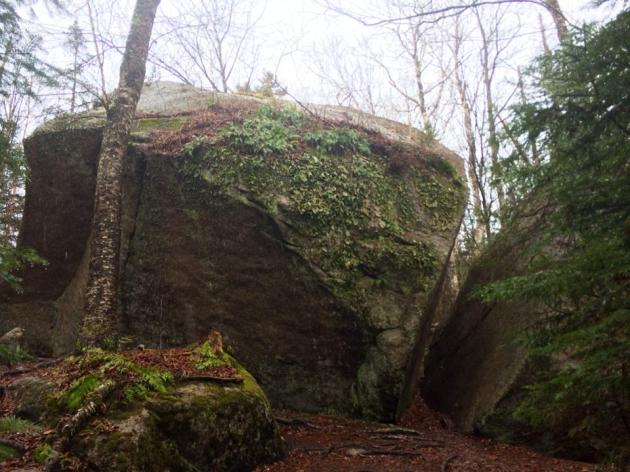 House-sized Glacial Boulder on Sugarloaf Trail
