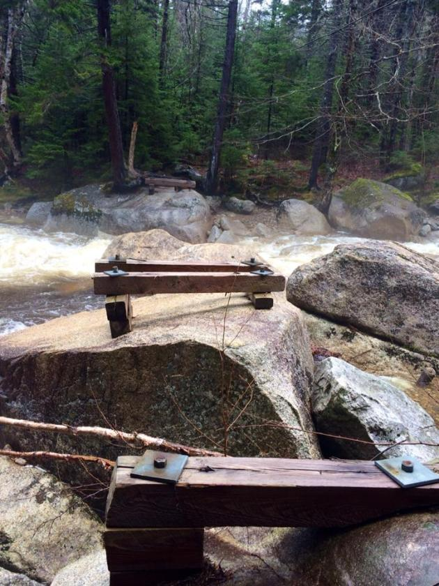 Trestle Trail Bridge Remains