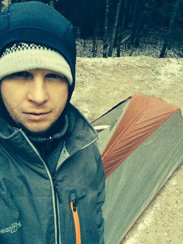 Camping at Barnes Field