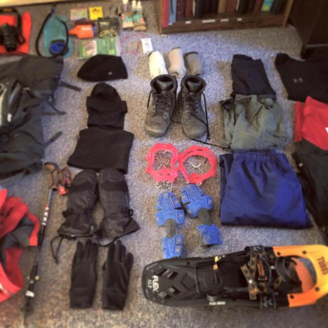 Preparing gear for my first winter 4000 Footer