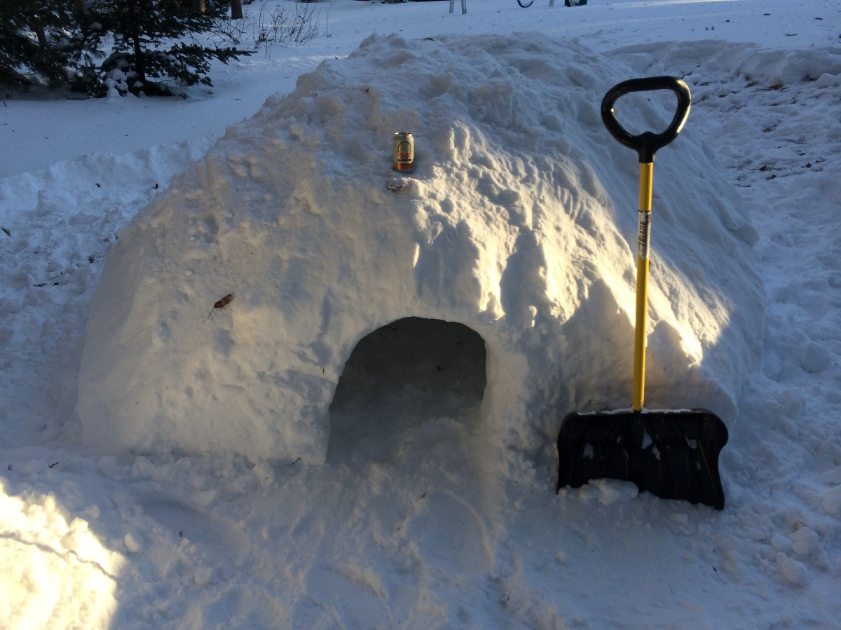 Backyard Adventure: Do You Want to Build a Quinzee?