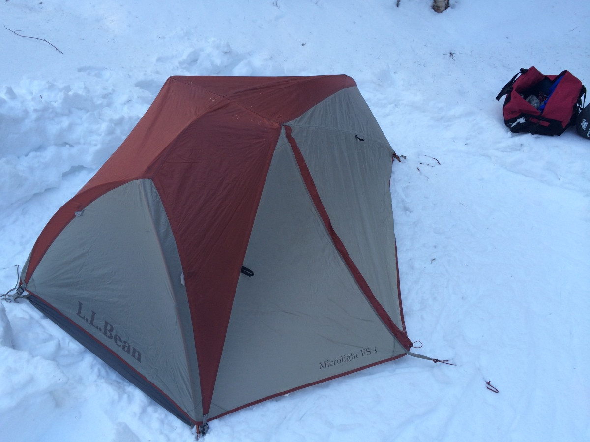 How-to: Pitch a Tent in Snow