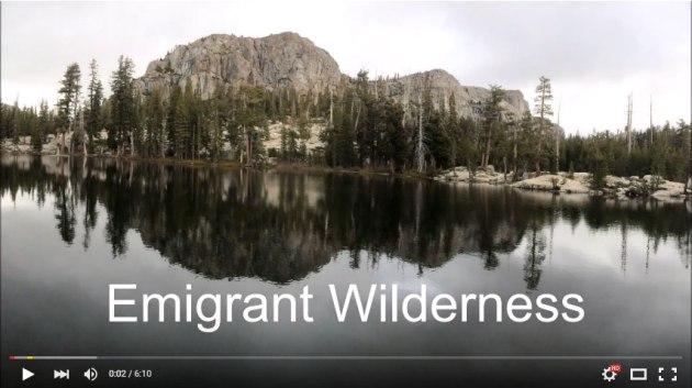 Video of Emigrant Wilderness hike