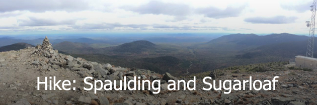 Hike Spaulding and Sugarloaf
