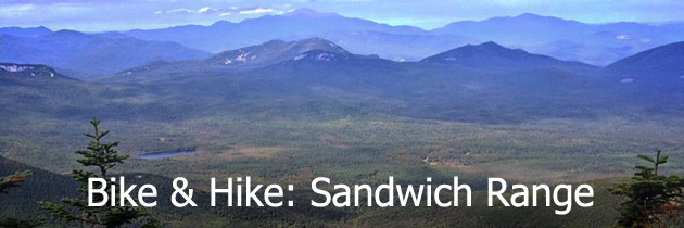 Bike and hike the Sandwich Range
