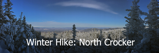 Winter hike of North Crocker