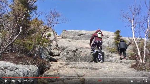 Video of Bald Mountain and Artist's Bluff hike