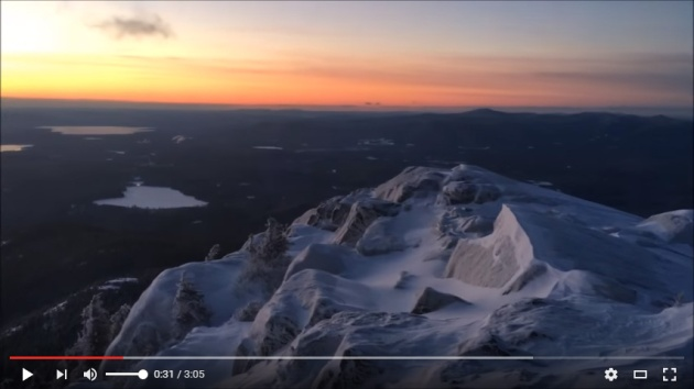 Video of Mount Chocorua sunrise hike