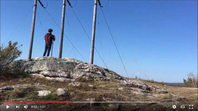 Video of Blackstrap Hill Preserve hike