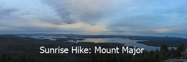 Mount Major sunrise hike