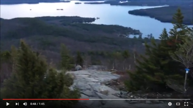 Video of Mount Major sunrise hike