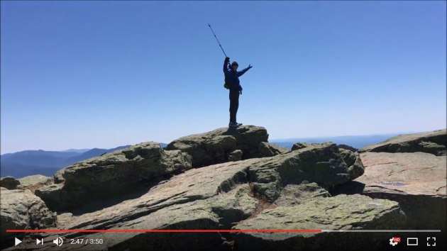 Video of Franconia Loop 2016 hike