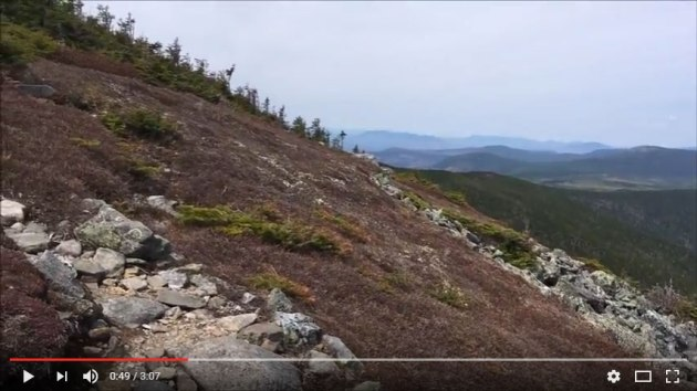 Video of Mount Abraham hike
