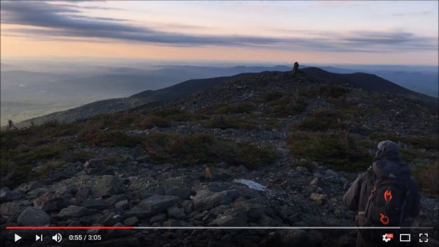 Video of Mount Abraham bushwhack