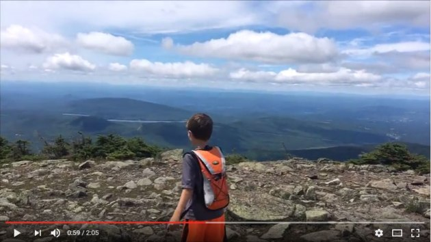 Video of Mount Moosilauke hike