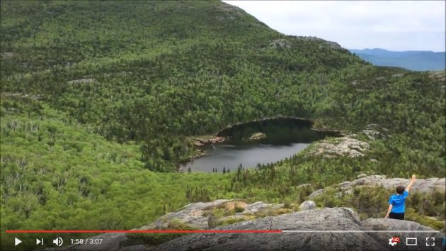 Video of Tumbledown Mountain hike