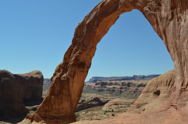 Top 106 photo: stone arch in desert