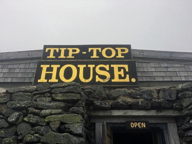 Tip-top House open sign