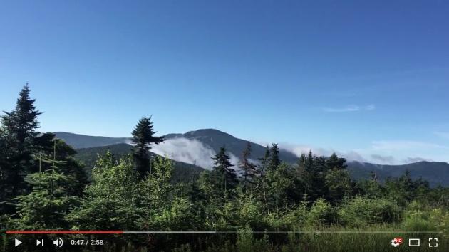 Video of Pico/Killington hike