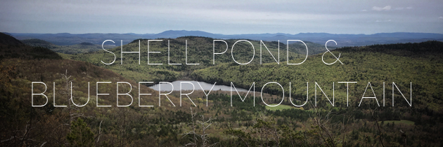 Trail Run: Shell Pond and Blueberry Mountain