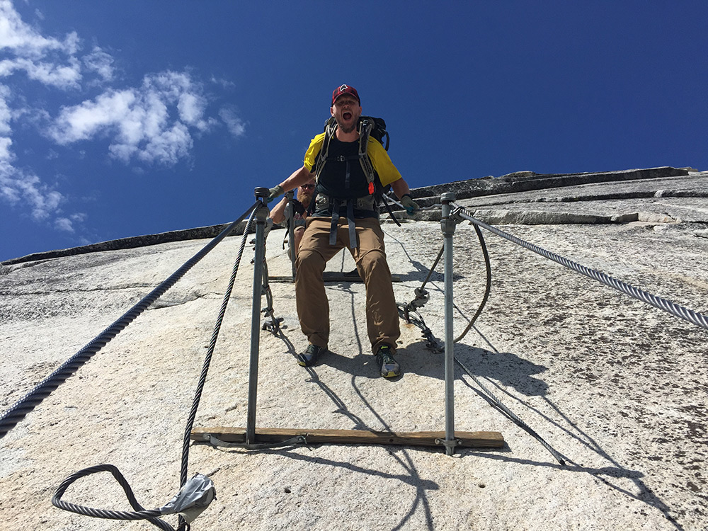 The Cables of Half Dome