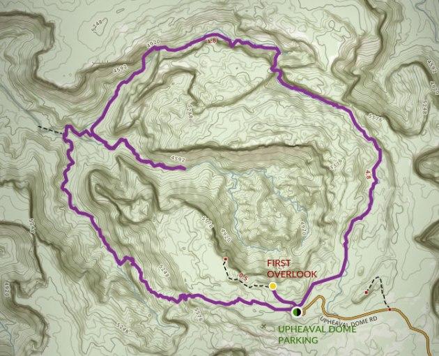 Hike Upheaval Dome