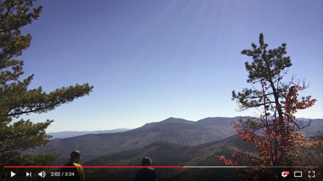 Video of Iron Mountain hike