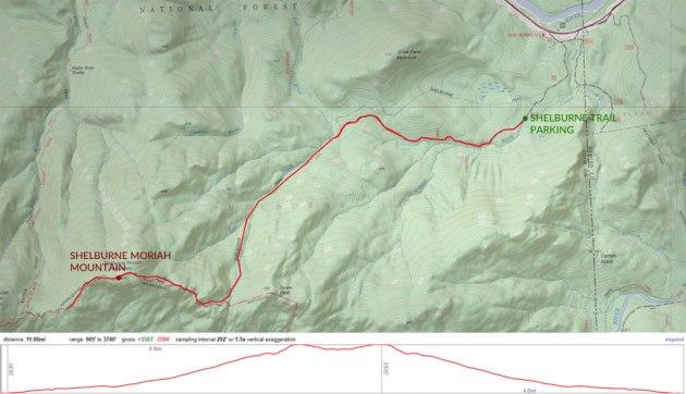 Hike Shelburne Moriah