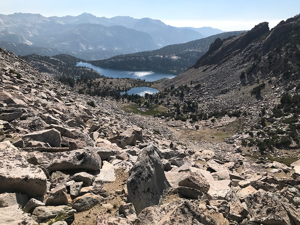 Ridge above Lake Virginia