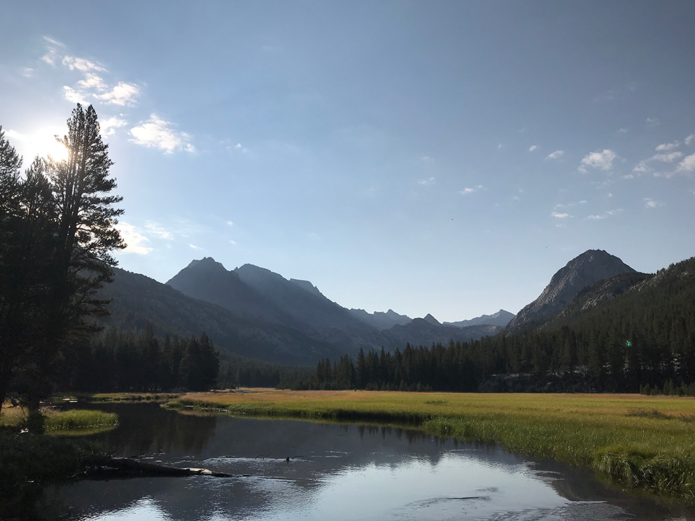 Sunrise at McClure Meadow