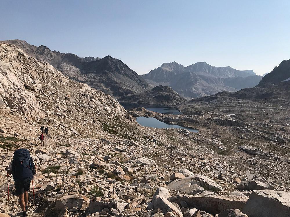 Helen Lake from Muir Pass