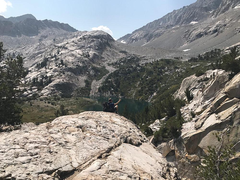 Brennan on a Kings Canyon vista