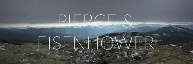 Winter hike of Pierce & Eisenhower
