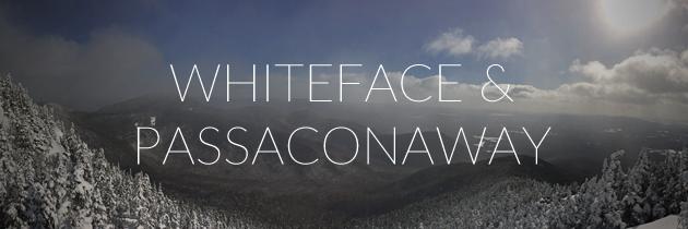 Winter hike Whiteface and Passaconaway