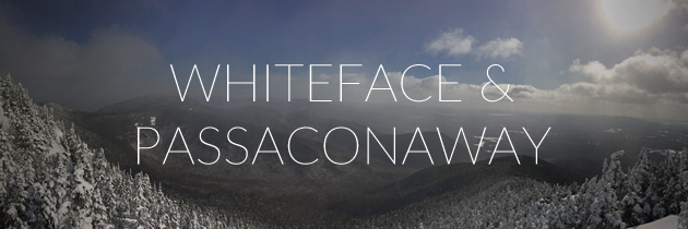 Winter hike Whiteface and Passaconaway