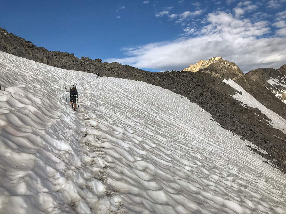 Glen Pass snowfield