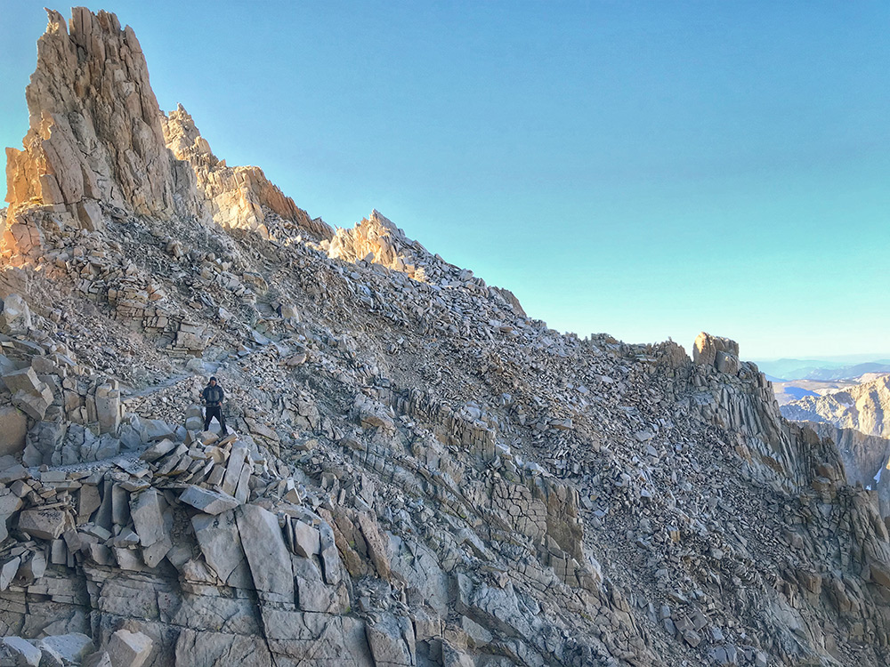 Mount Whitney descent