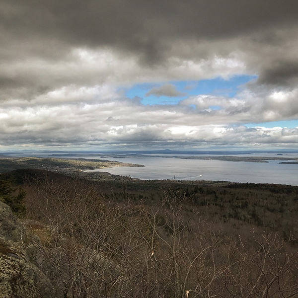 view from Bald Rock Mountain