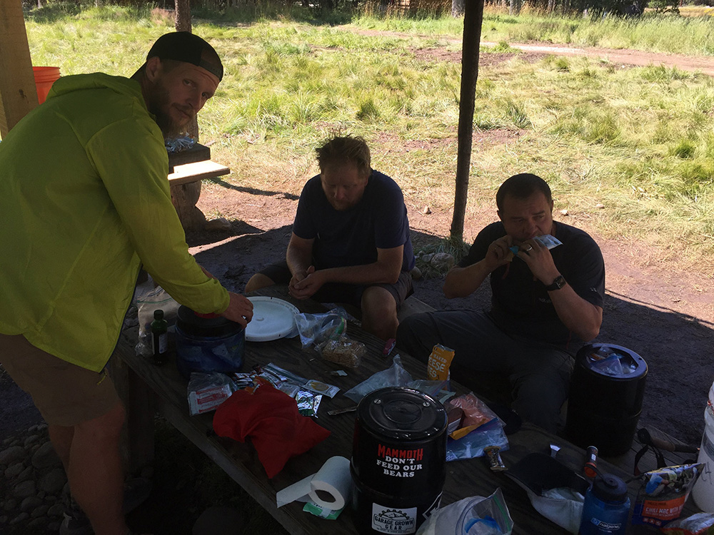 Resupply at Muir Trail Ranch